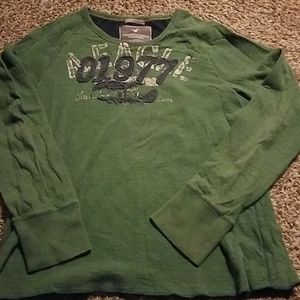 Mens American eagle long sleeve vintage shirt tee